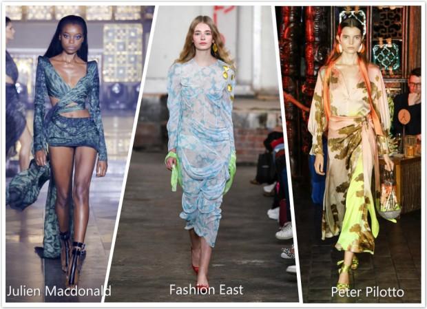 printing pattern fashion dresses
