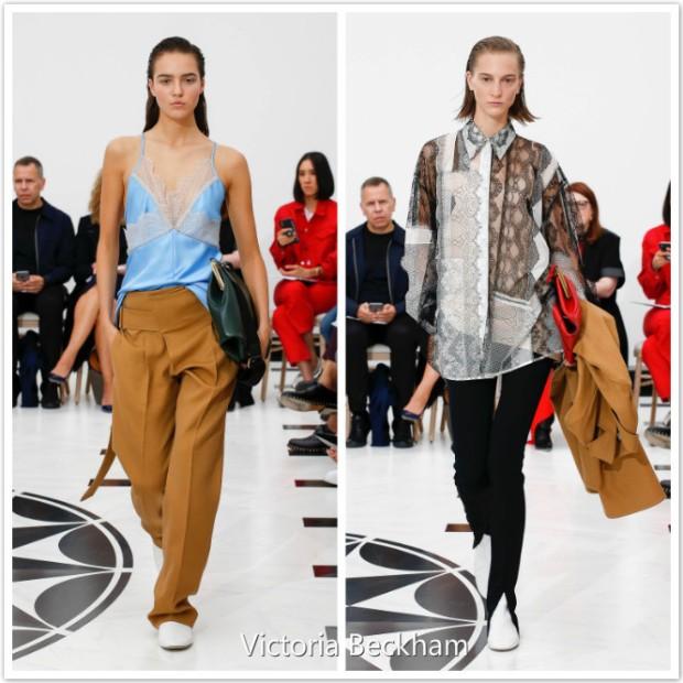 Transparent fashion dresses on London Fashion Week