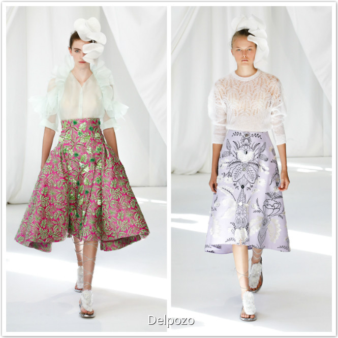 Delpozo fashion dresses