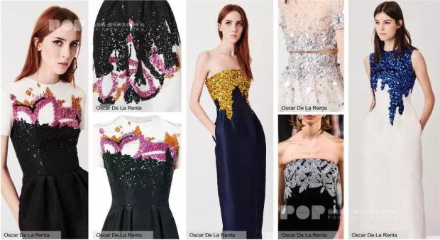 Intricate Embroidery long formal dresses