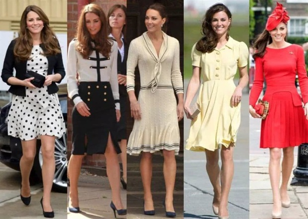 princess Kate's style from big native brands