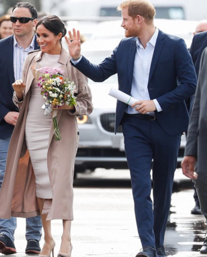 Princess Meghan along whith Princess Henry