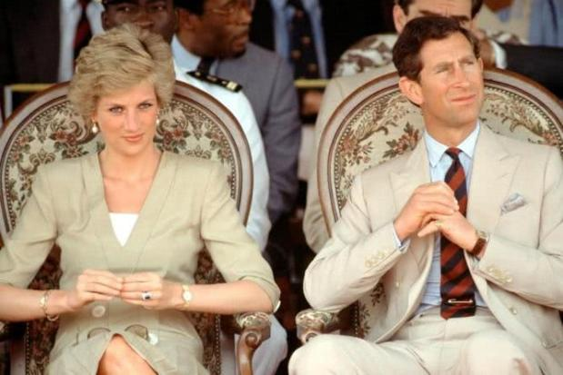 Princess Diana and her husband