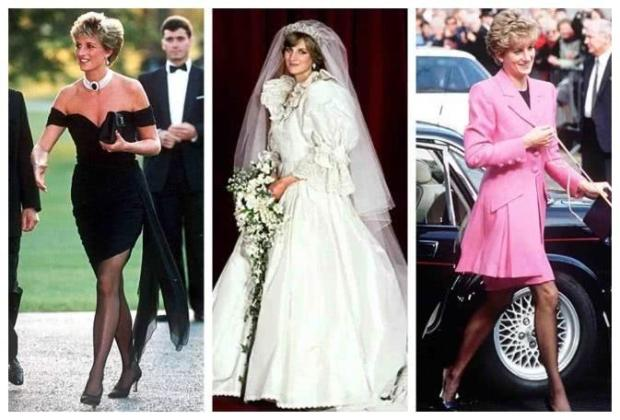 Princess Diana's beautiful dresses