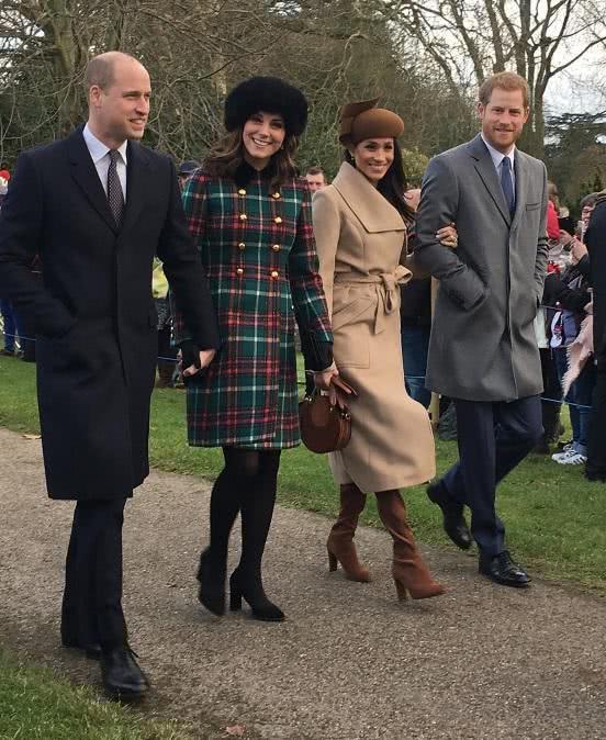 Princess Meghan and Princess Kate