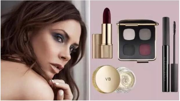 Victoria Beckham's makeup