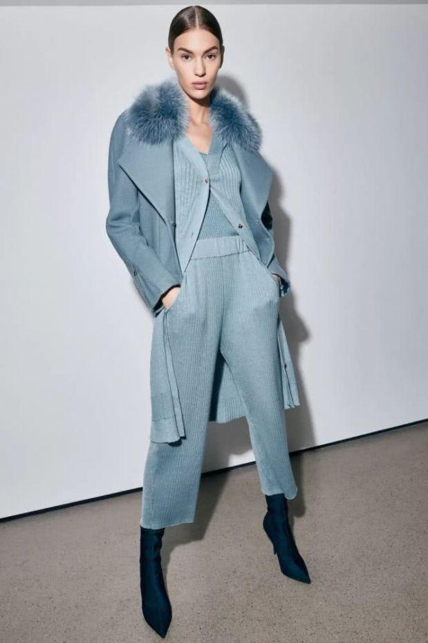 blue fashion style