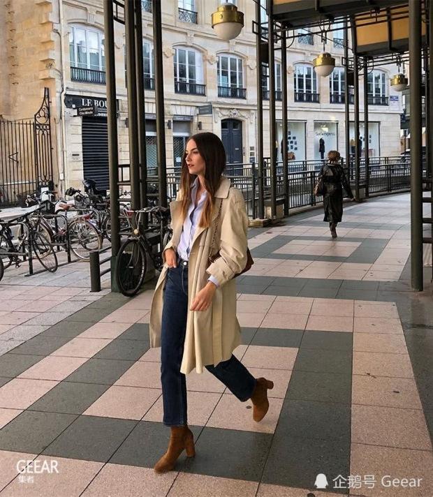 beige coat