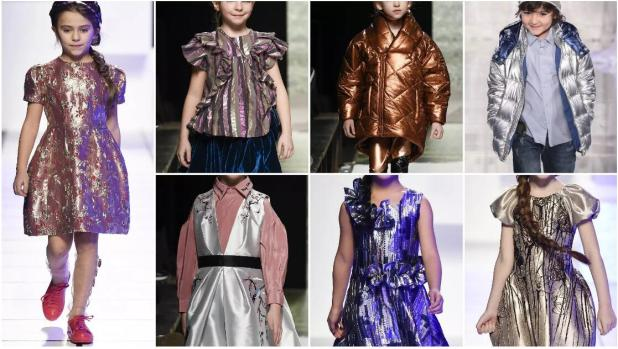 Metallic Lustre fashion styles