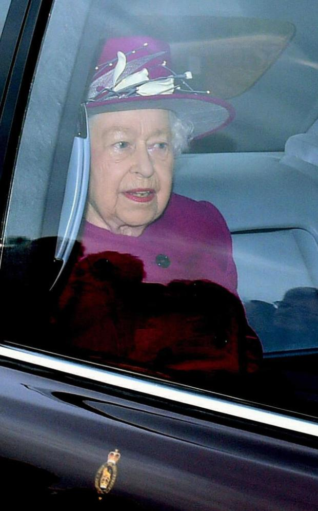 Queen Elizabeth II rose red style 1