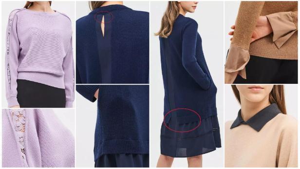Splicing Fashion Styles
