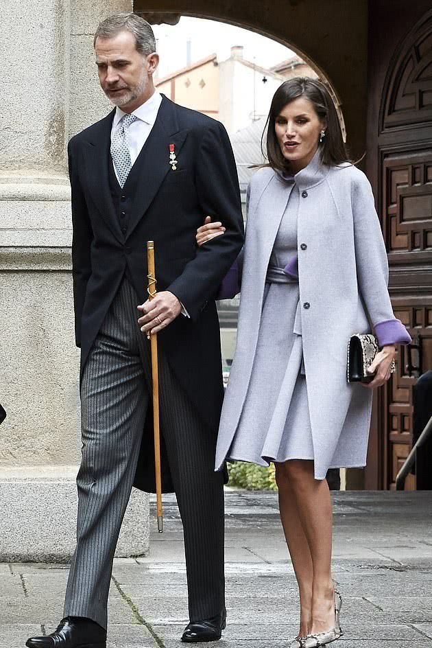Queen of Spain Letizia and her husband