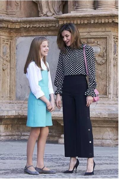 Letizia and her daughter