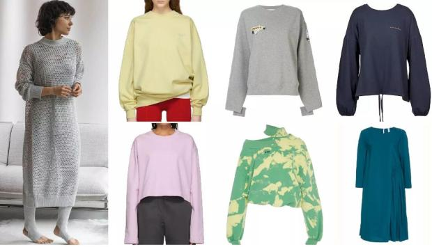 Loose Crew Neck Pullovers
