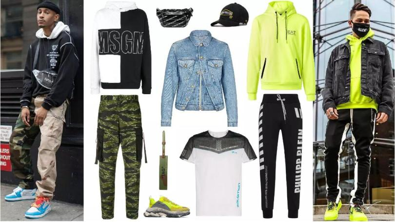 Mixing and Matching of Sports Sweatshirts