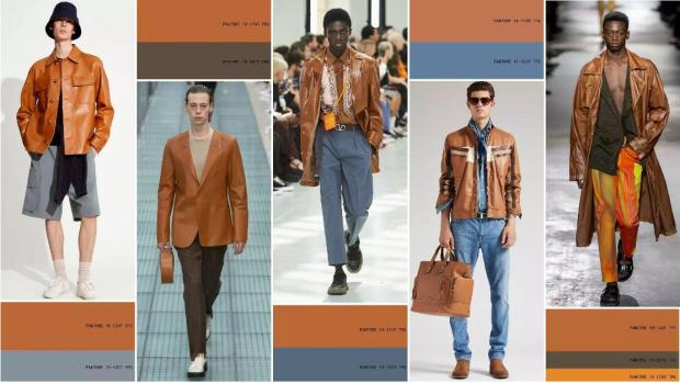 Caramel Brown color fashion style