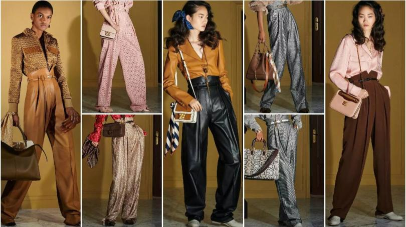High-Waist and Wide-Leg Trousers