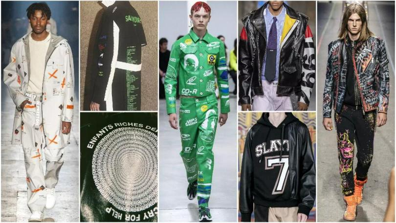 Letters fashion trend style