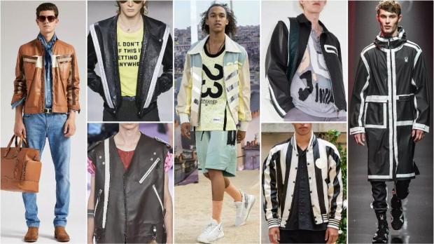 Rhythmic Stripes fashion trend style