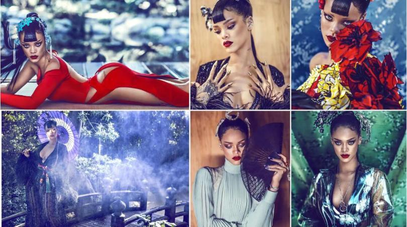 Rihanna -- Bazaar-China Edition 2015