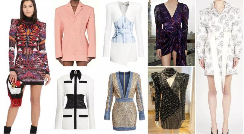 Slim Waist and Wide Shoulder dress