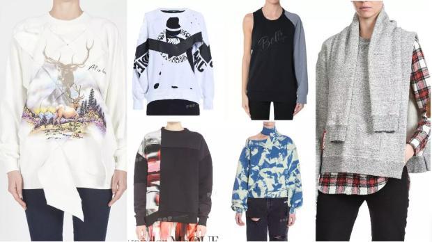 Asymmetrical Sweatshirts fashion