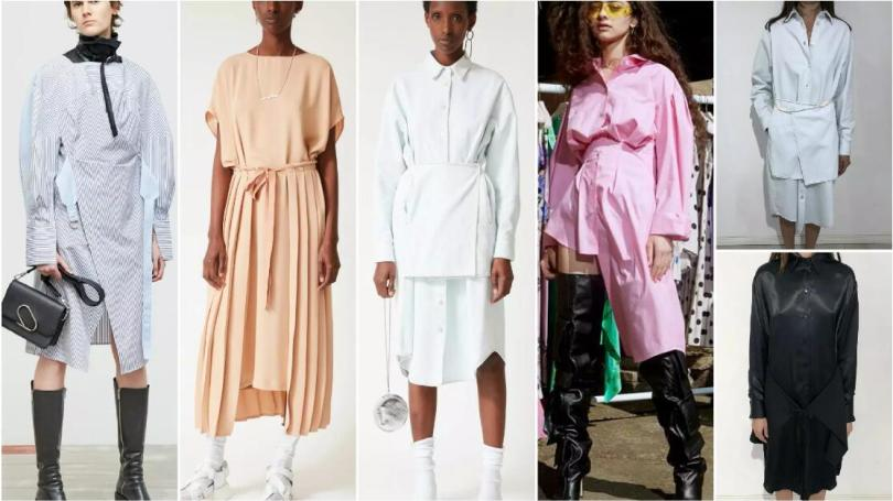 Wrapping and Layering dresses
