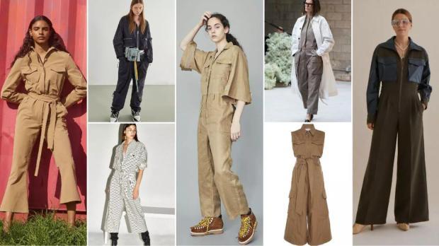 Cargo Overalls pants