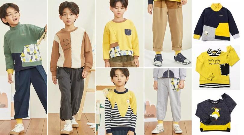 Irregular Cutting Children's Style