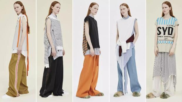 Layering fashion style