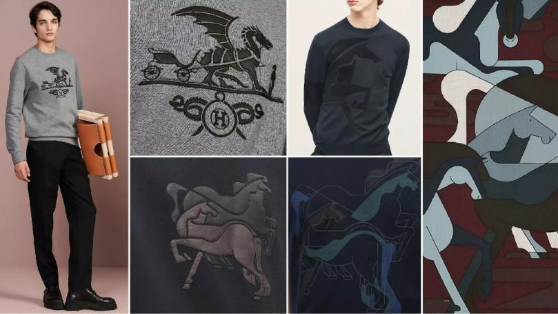 Renewed Logos sweatshirt