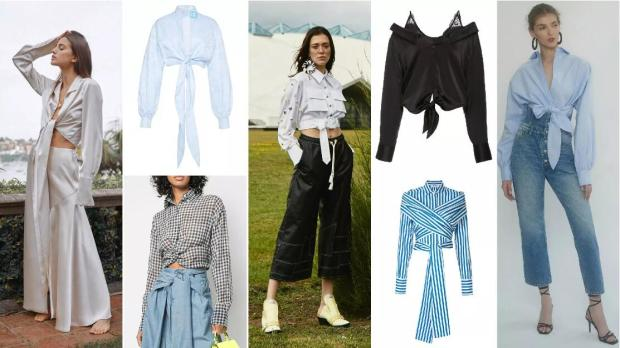 The Cropped and Knotted Shirt