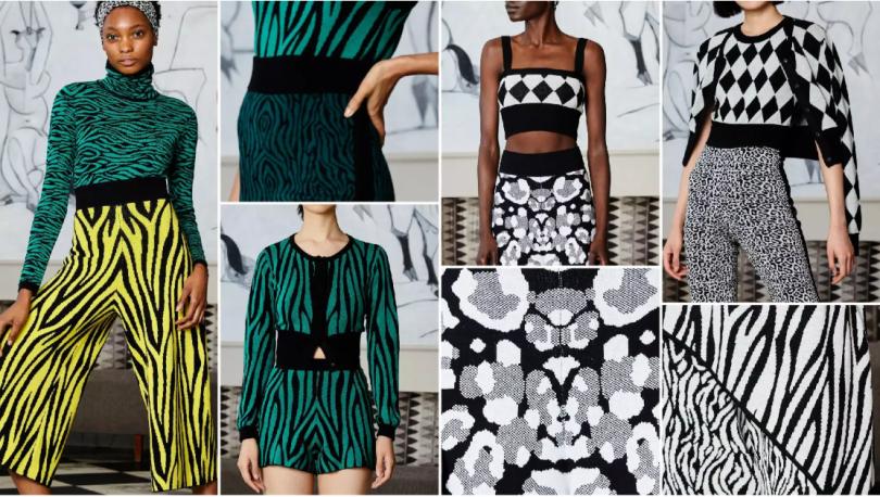Animal Prints fashion knitwear