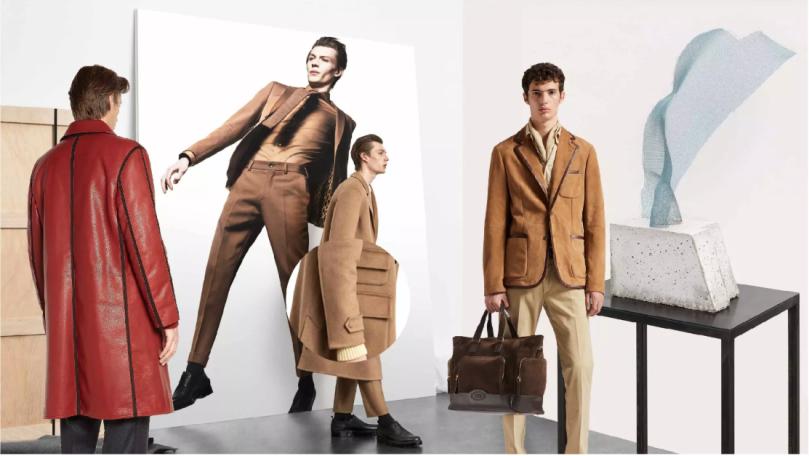 fashion leather menswear