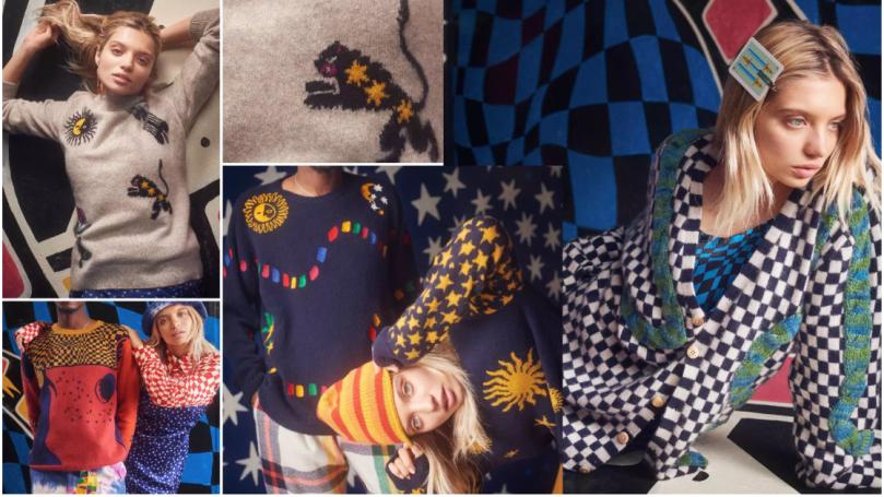 interesting yarn fashion kniwear