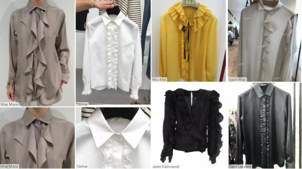 Frills Ruffles fashion shirts