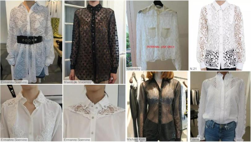 Lace fashion style