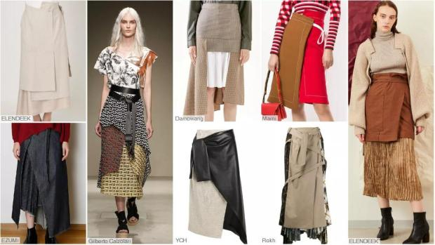 Popular Skirt- The Spliced Skirt