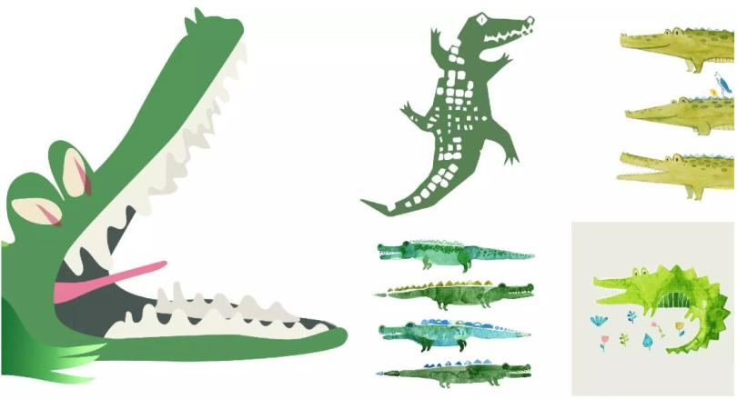 Scary Crocodile