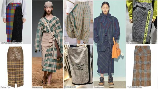 The Evolution of Check Skirt- The Check Skirt with a Design Sense
