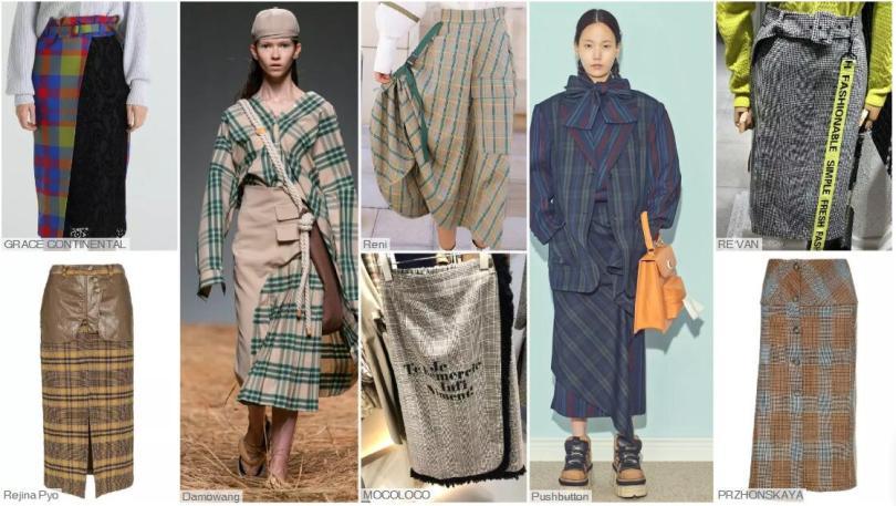 The Evolution of Check Skirt- The Check Skirt with a Design Sense