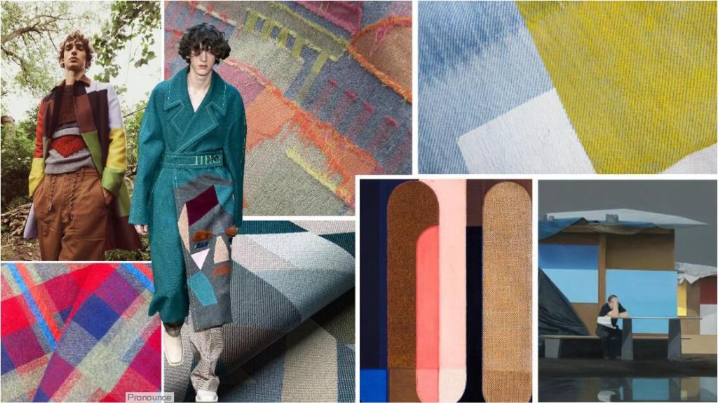 Color-Blocking Fabric