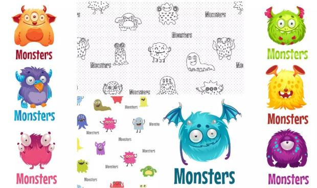 Little Plush Monsters