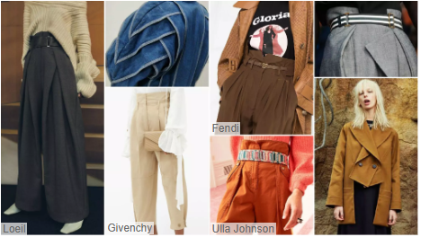 Layered Crinkles Trousers