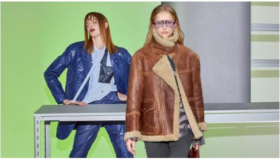 Women's Leather/ Fur Clothing on Catwalks