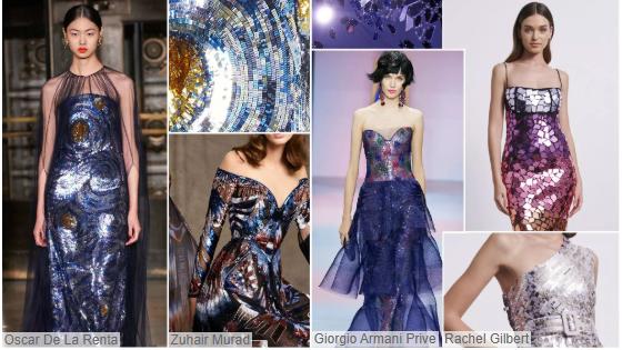Offbeat women's gowns