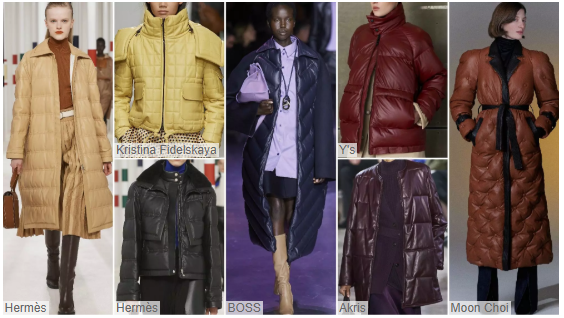 Women's Leather/ Fur Clothing on Catwalks