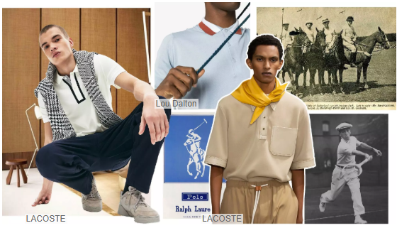 Zipper Polo shirt
