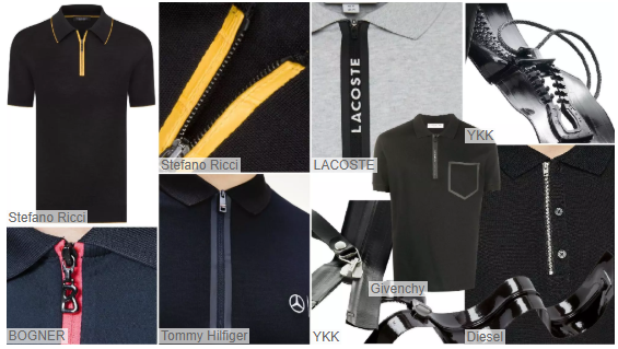 Widened Plackets polo shirt