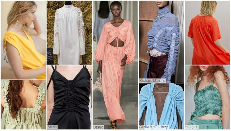 Soft Gathered Pleats women's loungewear